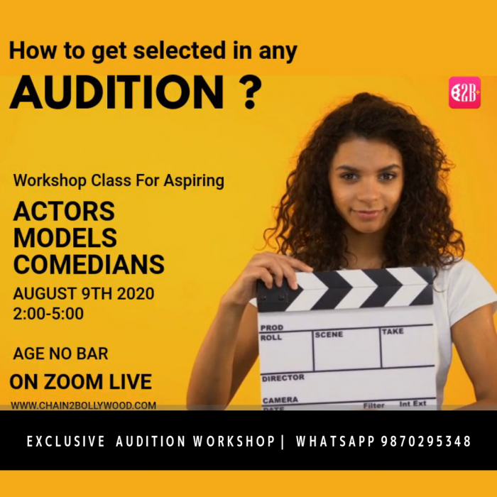 ACTING CLASS- Get Selected in Any Audition ?